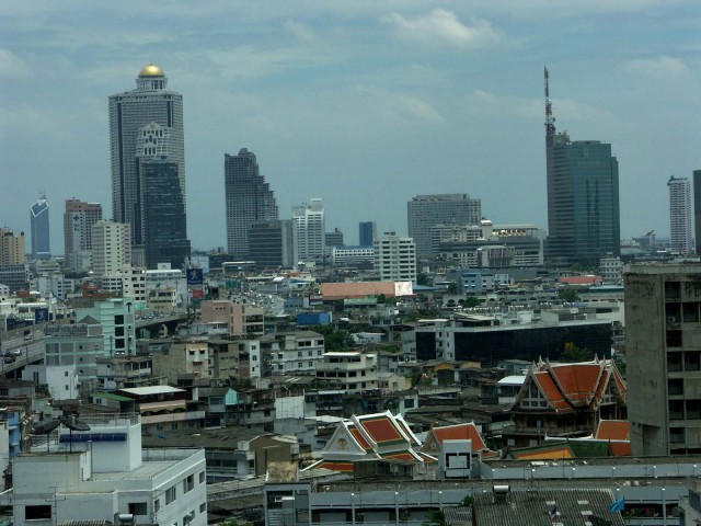 Бангкок – рекордсмен по количеству небоскрёбов на единицу площади