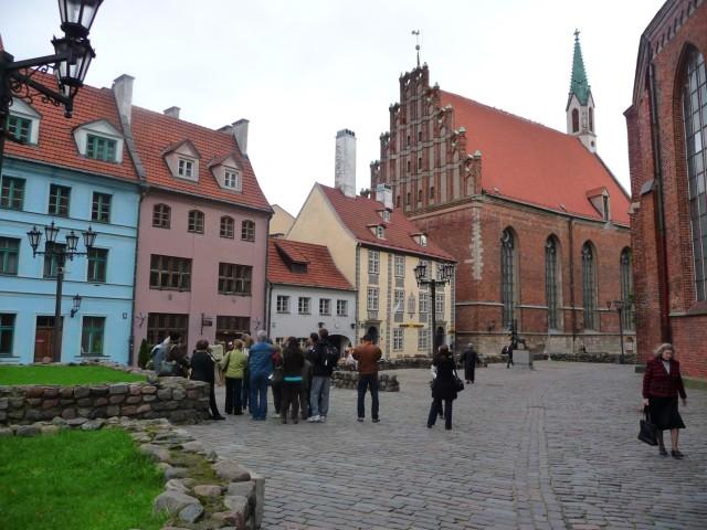 Бывшая торговая площадь в Старом Городе