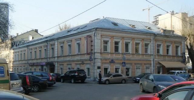 Дом в Старомпименовском переулке