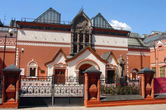Фасад Третьяковки