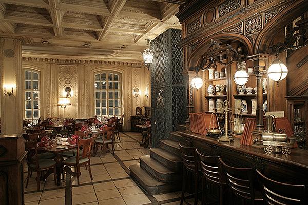 Интерьер «Кафе Пушкинъ»