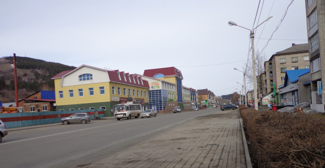Центр города, район автовокзала