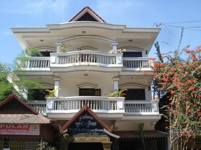 Popular Guest House, наше пристанище в Сием Рипе, 6-8$ за номер