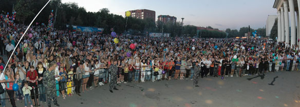 Празднование дня города в 2010 году
