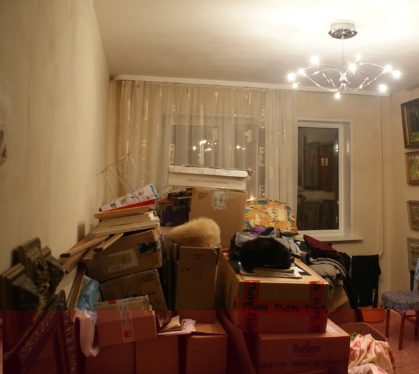 Сборы к отъезду. Красноярская квартира