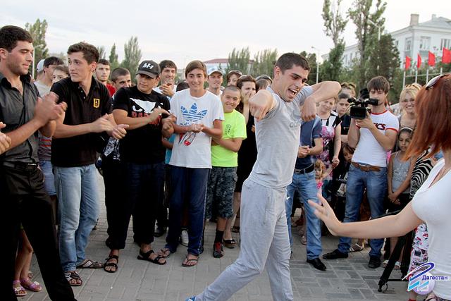 День молодежи в Каспийске