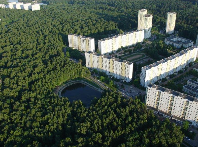 12 микрорайон Зеленограда – и