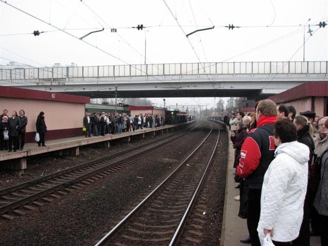 Рабочие будни на станции Крюково