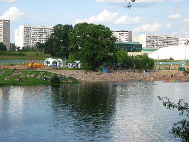 Большой городской пруд в пойме р. Сходни