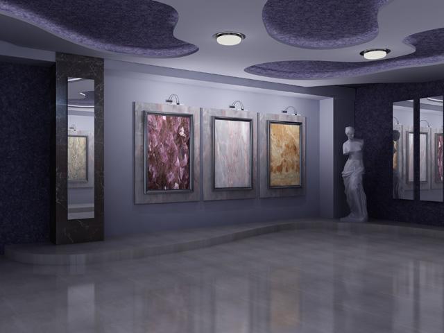 Внутри Выставочного зала «Флейта»
