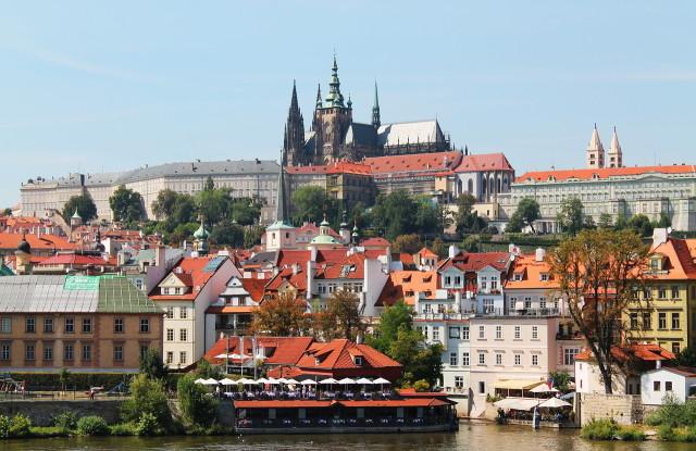 Прага. Собор Св . Вита и его окрестности