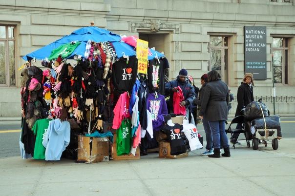 Уличная торговля в Нью - Йорке