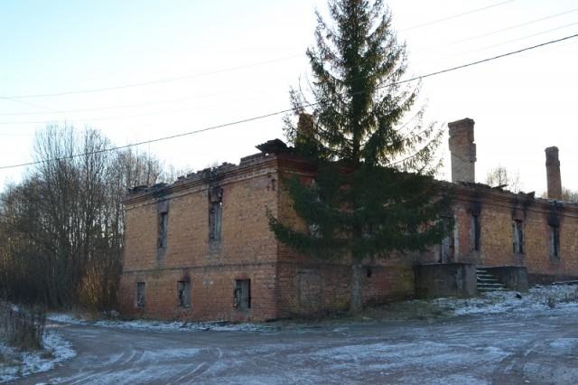 Село Кирпичное. Развалины завода графа Салтыкова
