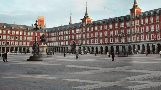 Площадь Майор в Мадриде