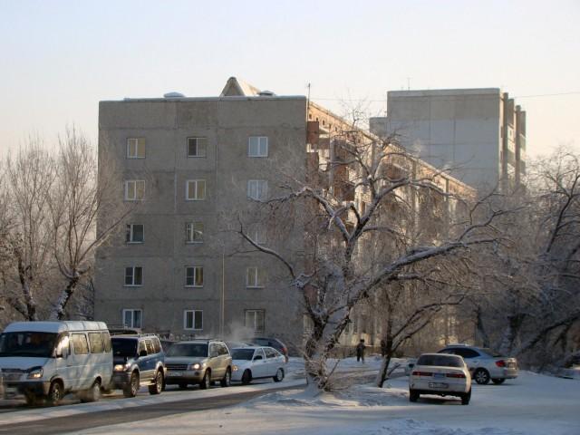 Тувинская зима