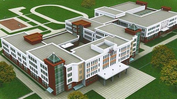 Проект  новой школы на ул. Бай-Хаакской