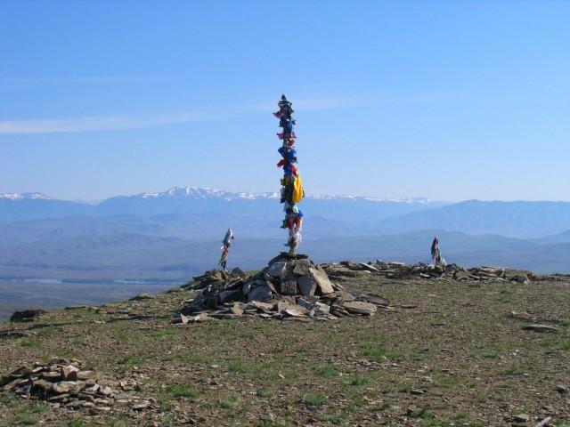 Шаманский символ на горе Любви