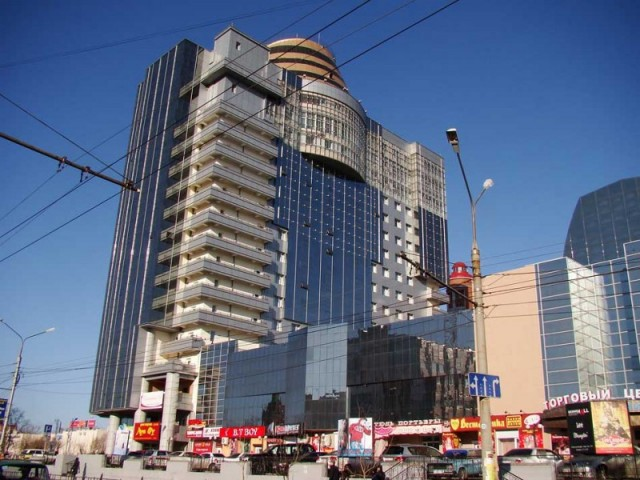 Гостиница Азия и торговый центр