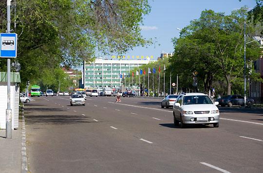 Центральная улица Ленина