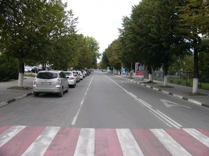 Ул. Ленина - с окончанием сезона улицы стали пустыми