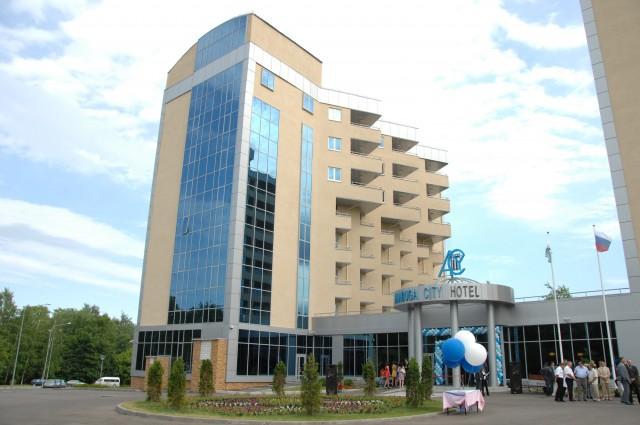 Церемония открытия гостиничного комплекса Alabuga-City Hotel