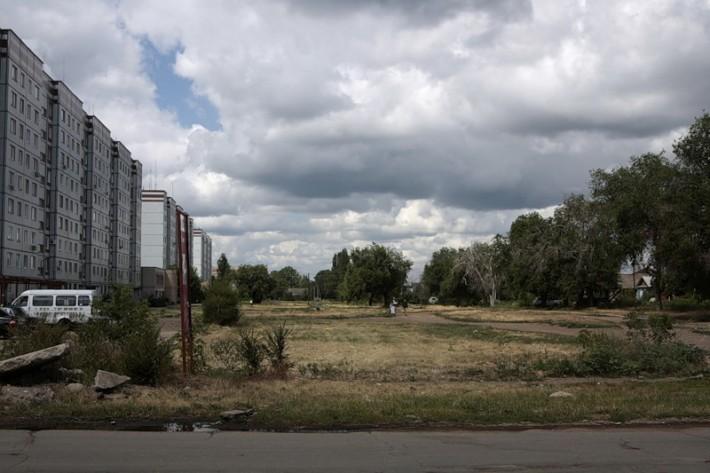 Граница старого города и Жил.городка