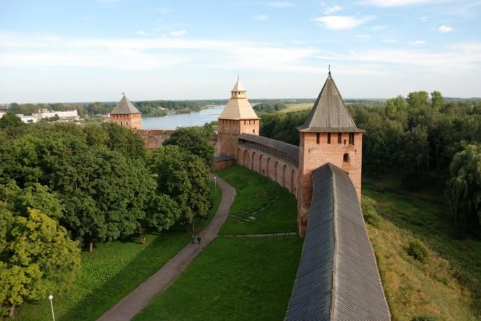 Новгородский кремль — уникальный памятник фортификации
