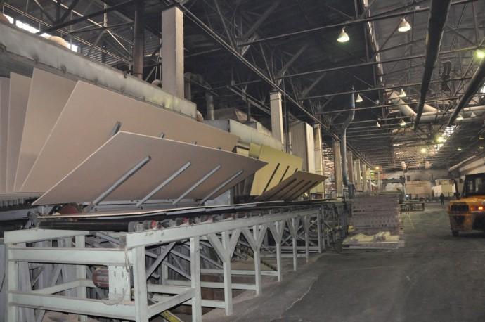 В цехах Игоревского деревообрабатывающего комбината
