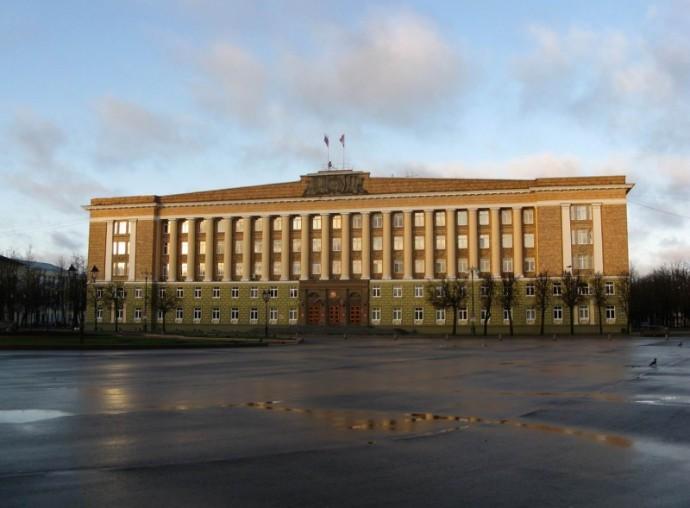 Здание городской администрации в Новгороде