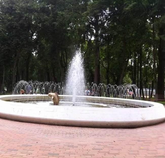 В парке Культуры и отдыха