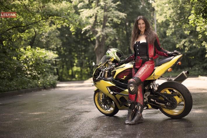 Я и мой мотоцикл. Нам не скучно вместе