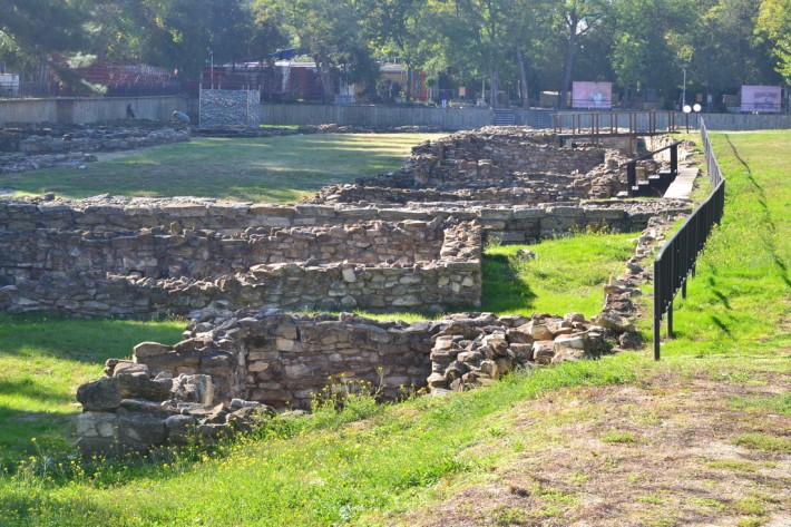 С этого начиналась Анапа, остатки Горгипии