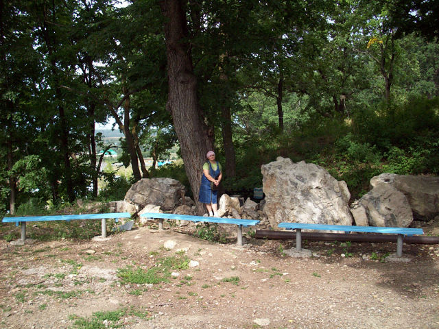 В Табынске перед храмом