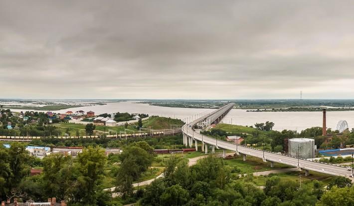 Мост в Хабаровске