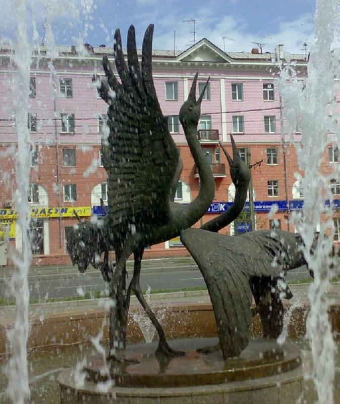 Один из фонтанов, которыми действительно можно гордиться