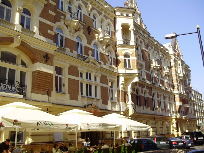 В центре столицы