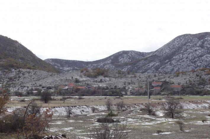 Босния и Герцеговина. Сразу после въезда в страну