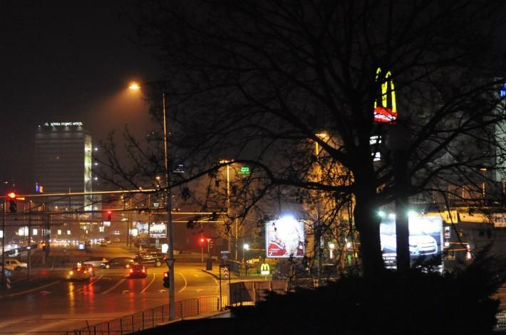 София декабрьской ночью