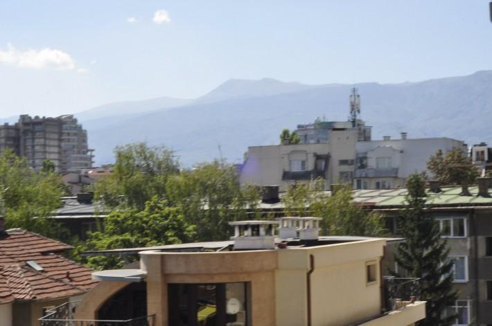Вид с террасы нашей квартиры