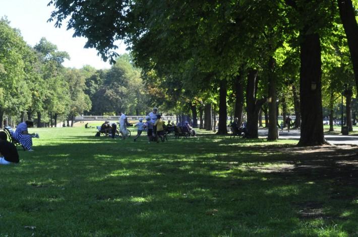 Парк Борисова Градина в нашем районе