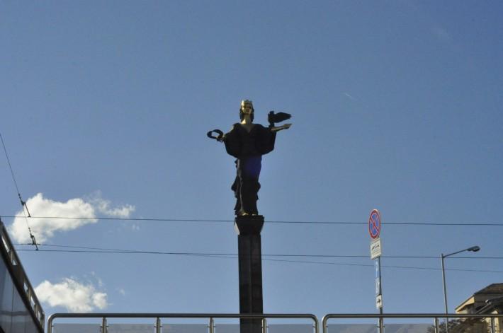 Памятник покровительнице города Софии