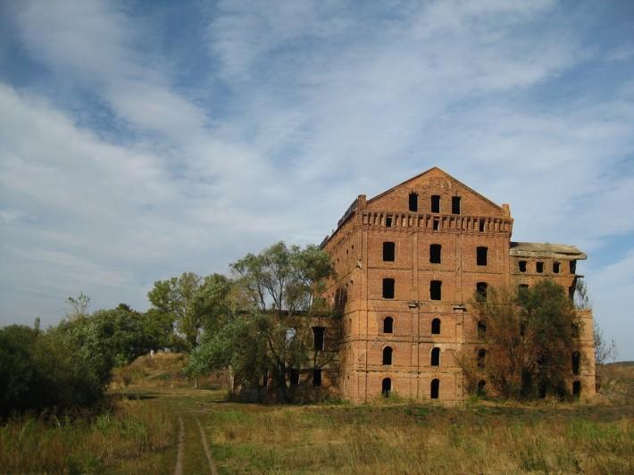 Адамова мельница - та самая фабрика 19 века в Ливнах