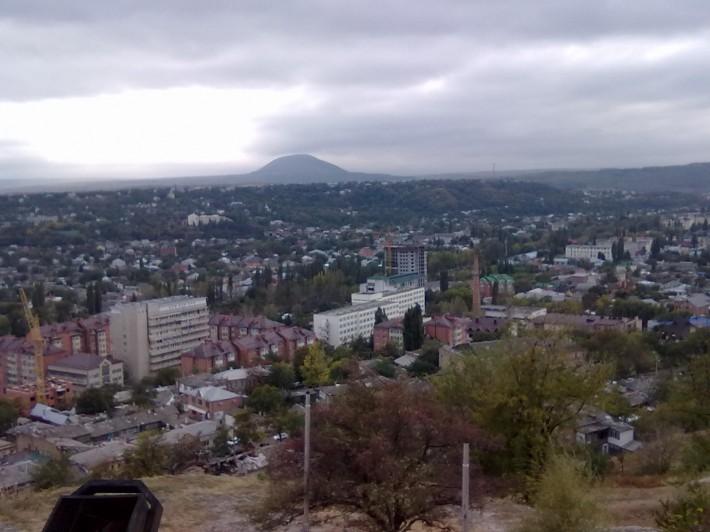 Небольшая панорамка города