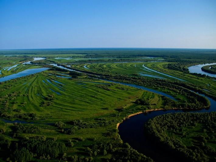 Пейзаж Томской области