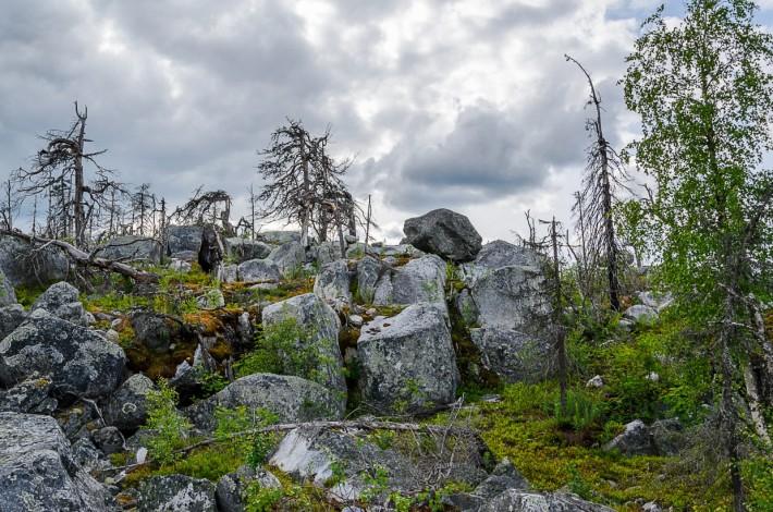 Гора Воттоваара — одно из самых мистических мест Карелии