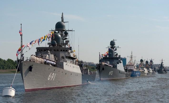 Каспийская флотилия всегда готова защитить южные рубежи нашей родины