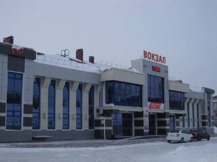 Новый вокзал «Падунские пороги»