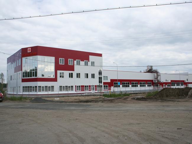 Один из новых заводов компании «Ягоды Карелии»
