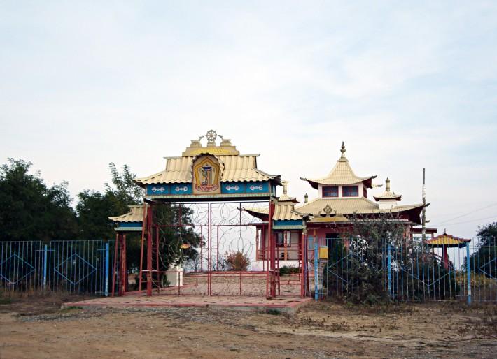 Лагань. Буддийский храм - хурул