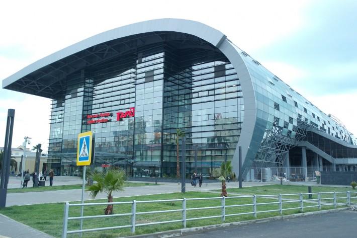 Новый вокзал в Адлерском районе